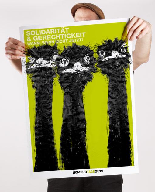 Plakat Romerotage